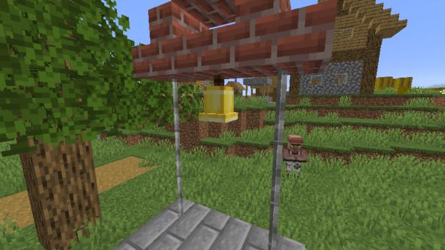 鐘を天井に設置