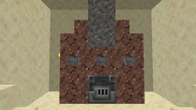 溶鉱炉をインテリアとして設置する