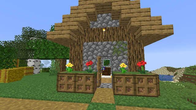 村で製図台を手に入れる